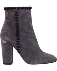 sports shoes 7b875 65787 Pura López Ankle Boots in Gray - Lyst