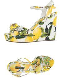 Dolce & Gabbana - Sandalias - Lyst