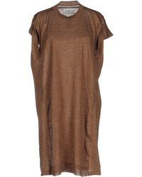 Maison Margiela - Short Dress - Lyst