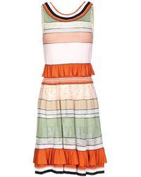 Missoni - Short Dress - Lyst