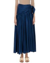 Comprar Faldas largas Erika Cavallini Semi Couture de mujer desde 75 € 30cd72b8e27d