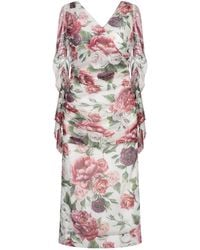 Dolce & Gabbana - Knee-length Dress - Lyst