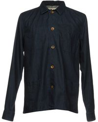 Pence - Denim Shirt - Lyst