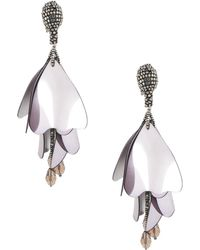 Oscar de la Renta - Earrings - Lyst