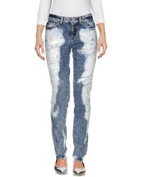 Fausto Puglisi - Denim Trousers - Lyst