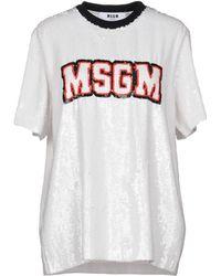 MSGM - Blouses - Lyst
