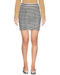 Pam & Gela - Mini Skirt - Lyst
