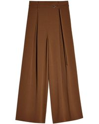 TOPSHOP Casual Trouser - Brown