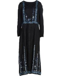 French Connection - 3/4 Length Dress - Lyst