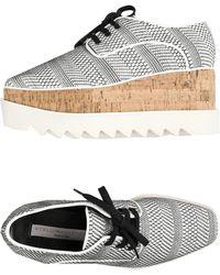 Stella McCartney Chaussures à lacets - Blanc
