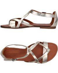 Vagabond - Toe Strap Sandals - Lyst