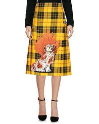Gucci - 3/4 Length Skirt - Lyst