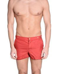 Robinson Les Bains - Swimming Trunk - Lyst