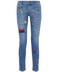 Alice + Olivia - Pantaloni jeans - Lyst