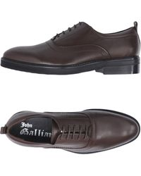 John Galliano - Lace-up Shoes - Lyst