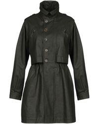 Moschino - Overcoat - Lyst