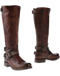 Frye - Veronica Back Zip Short Boot - Lyst