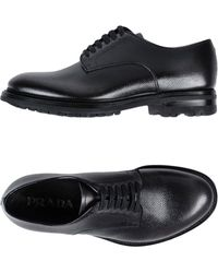 Prada - Lace-up Shoe - Lyst