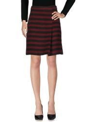 Paola Frani - Knee Length Skirts - Lyst