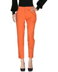 Scee By Twin-set - Casual Trouser - Lyst
