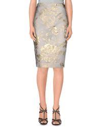 Genny - Knee Length Skirt - Lyst