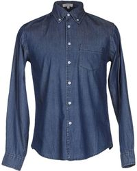 Geox - Denim Shirt - Lyst
