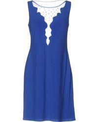 Carlo Pignatelli Short Dress - Blue