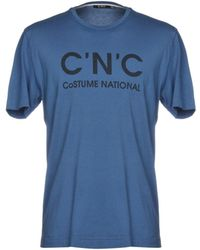 CoSTUME NATIONAL - T-shirts - Lyst