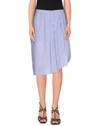 FWSS - Knee Length Skirt - Lyst