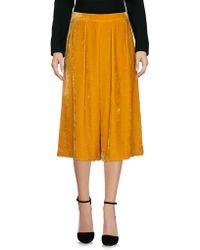 A.m. - 3/4 Length Skirt - Lyst