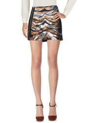 Met - Mini Skirts - Lyst