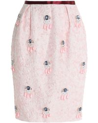 Mother Of Pearl - Knee Length Skirt - Lyst