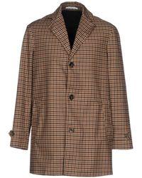 Aglini - Overcoat - Lyst
