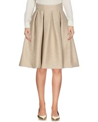 Io Couture - Knee Length Skirts - Lyst