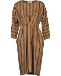 Niu - Short Dress - Lyst