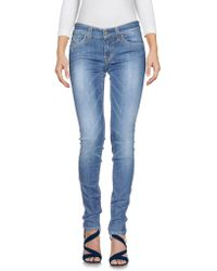 S.o.s By Orza Studio - Denim Trousers - Lyst