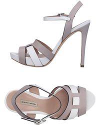 Gianni Marra Sandals - White