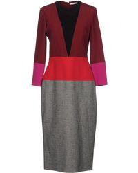 Barbara Casasola - 3/4 Length Dresses - Lyst