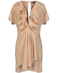 Elisabetta Franchi - Short Dress - Lyst