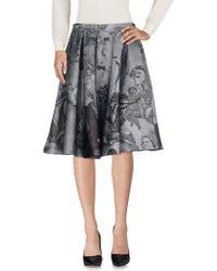 Moschino - Knee Length Skirts - Lyst