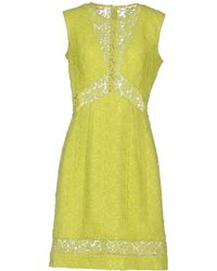 Ermanno Scervino - Short Dresses - Lyst