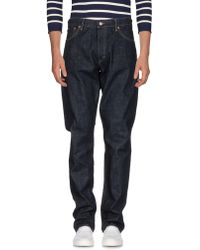 Ralph Lauren Black Label - Denim Pants - Lyst