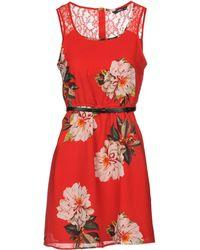 ONLY - Short Dress - Lyst