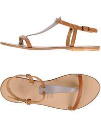 Campanile | Toe Strap Sandals | Lyst