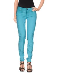 7 For All Mankind - Denim Pants - Lyst