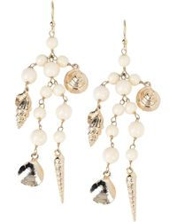 Rosantica Earrings - White