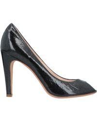 edbf0eb5c0f4 Lyst - Marc By Marc Jacobs America Leather Chain Pump in Black