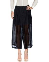 Isabel Benenato - 3/4-length Trousers - Lyst