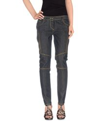 Who*s Who - Who*s Who Denim Trousers - Lyst