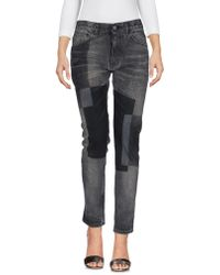 Facetasm - Denim Pants - Lyst